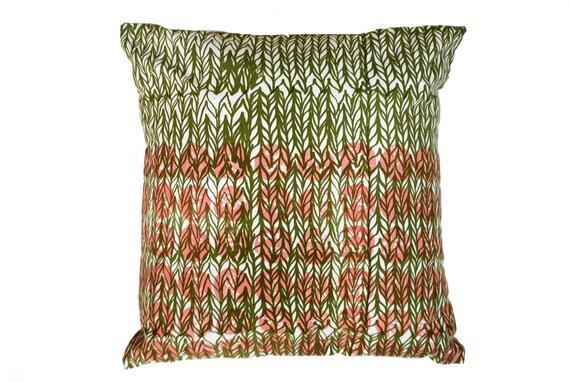 Hand Printed Cushion Cover