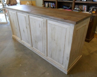 STORE COUNTER from reclaimed wood USA made