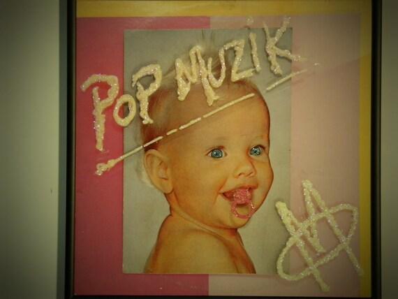 Glittered Record Album - M Factor - Pop Muzik