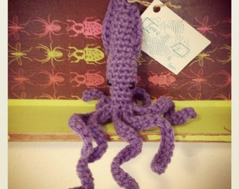 Catnip Squid Toy