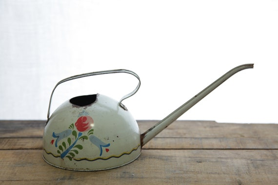 Ohio Art Co. Vintage Floral Watering Can