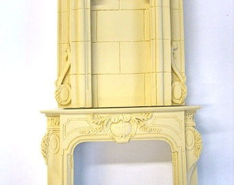 Dollhouse Miniature Fireplace Mantle - SALE!!