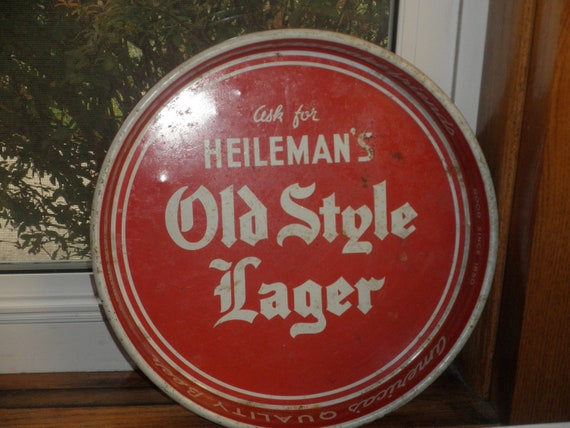 Old Style Lager Beer Tray