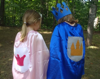 PARTY PACK Princess and Knight Cape Party Favors