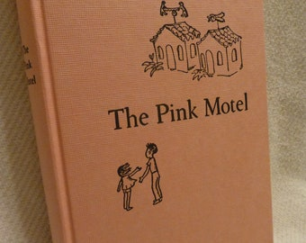 THE PINK MOTEL Rare Vintage Children's Book