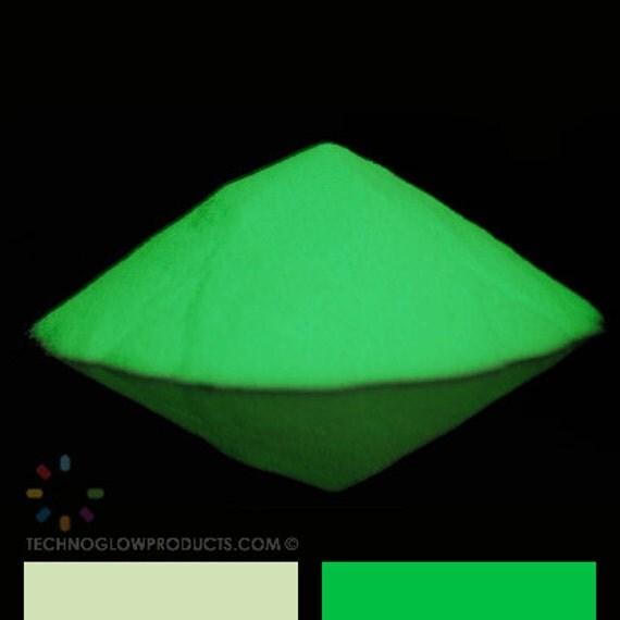Green Glow in the Dark Pigment Powder