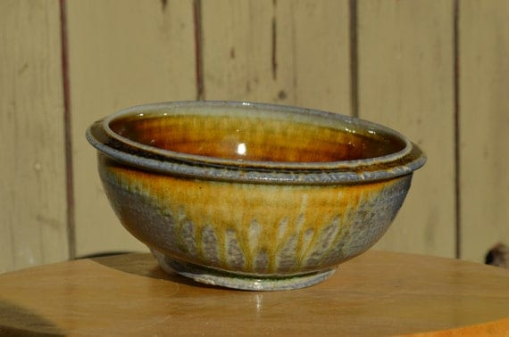 Wood FIred Porcelain Bowl (carbon trapping)