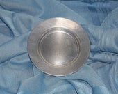 Wilton Columbia Pewter Co. Plate (Small)