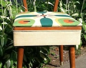 Mid Century Modern, Eames Style Sewing / Music / Vanity Chair