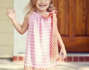 Instant Download- Pillowcase Dress Sizes 3M- 7 PDF Sewing Pattern Tutorial E Book...