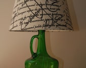 Green Lamp Base Only