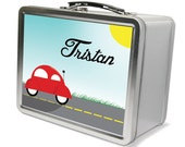 Personalized Car Lunchbox & Memory Box - Gifts for Boys