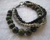 Stacked 3-in-1 bracelet