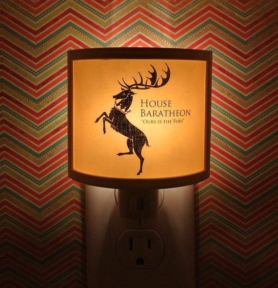 Bathroom Design Games: Items Similar To Game Of Thrones Night Light 10 Designs To