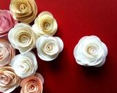 10 Big Handmade Roses