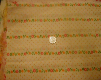"Cotton Flour Sack Fabric Fifteen 11""x12"") PERFECT CONDITION"