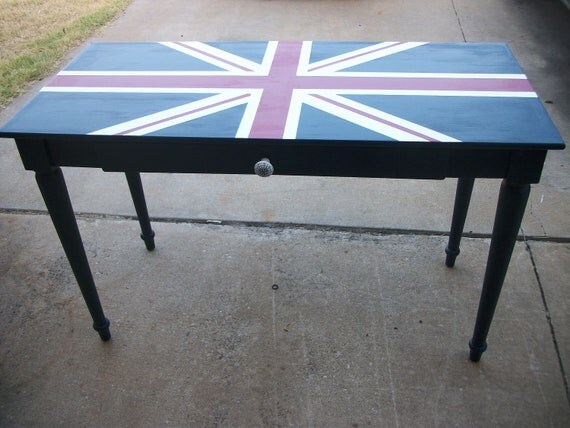 RESERVED for Maytee V.- Union Jack Desk