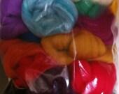 Jumbo Bumper Pack of Merino Felting Wools