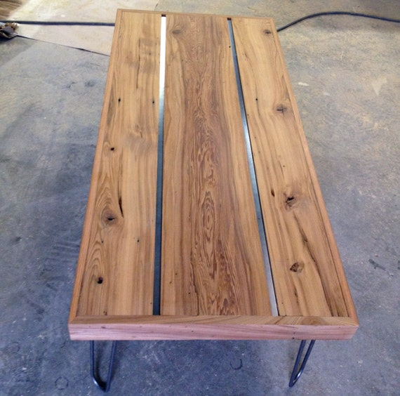 Etsy Wood Oval Coffee Table