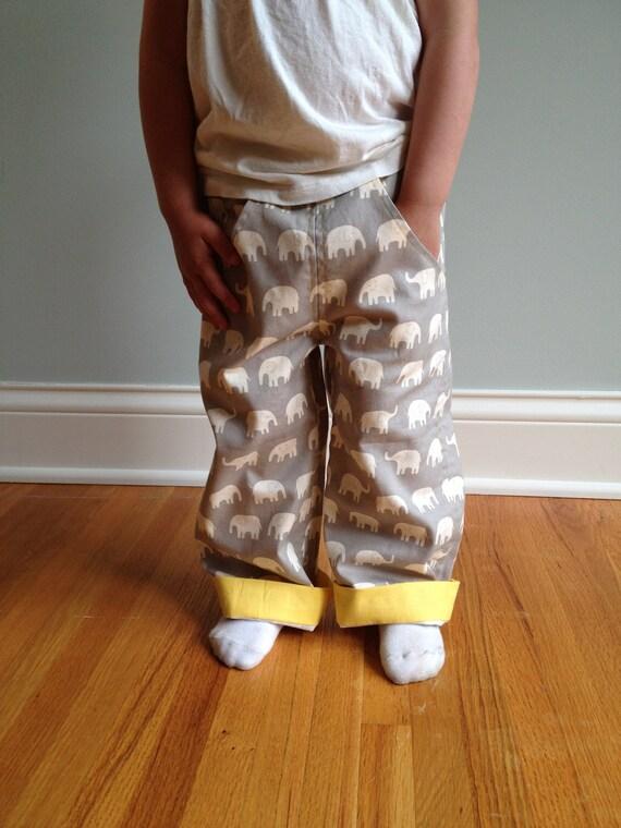 Grey Elephant Pants Size 2T
