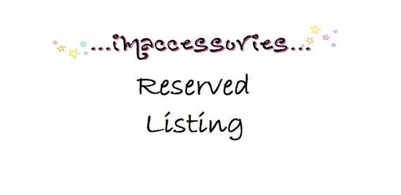 RESERVED Listing for salahdal