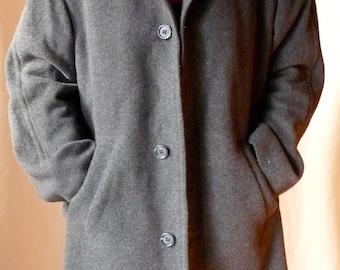 Vintage Gray Cashmere Blazer/Coat
