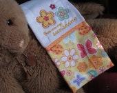 Sunshine Embroidered Burp Cloth