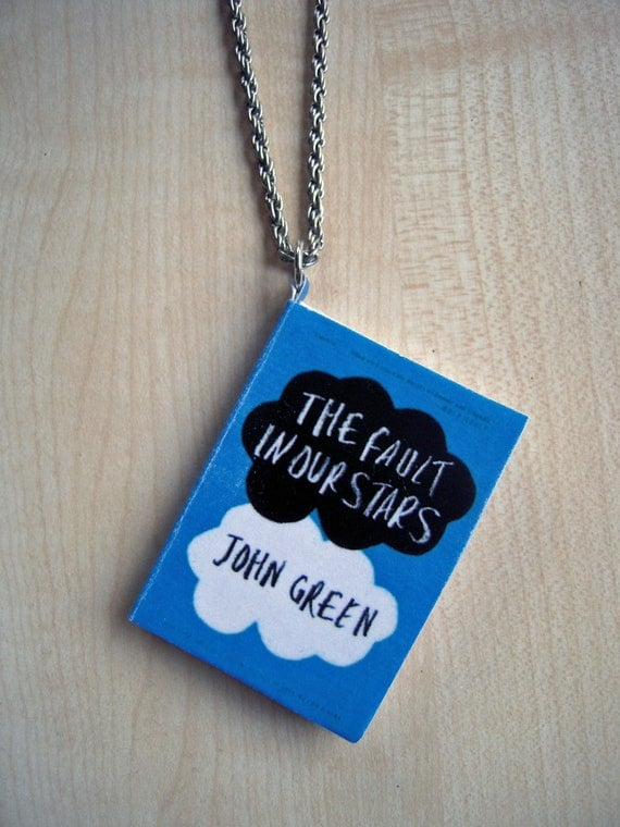 The Fault in Our Stars Mini Book Pendant