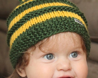 Cal Poly San Luis Obispo Baby Beanie for newborn to 3 months old
