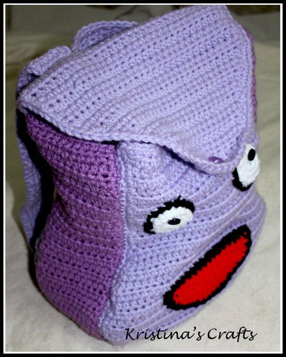 PATTERN Crochet Dora Backpack by KristinaKsCrafts on Etsy