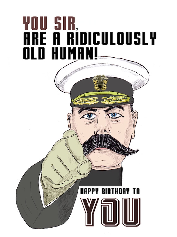 Happy Birthday Old Man Meme Funny : Items similar to funny birthday card you old age on etsy