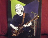 "Jerry Garcia in Art is a Limited Edition, 10""x13"", numbered Print of Original by Artist: Charles Freeman"