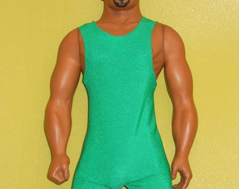 1999 Billy Era Green Wrestler Outfit for Billy the OUT and PROUD Gay Doll