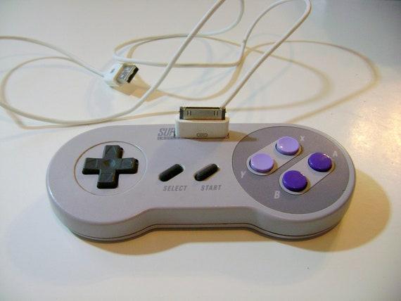 Super Nintendo Controller, iPhone 3g charging dock