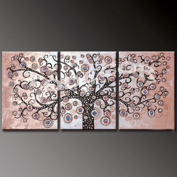 Decal parete albero della vita di di walldecorcollection - Albero su parete ...