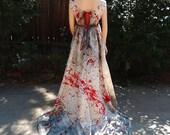 Blood Stained & Splattered Bride