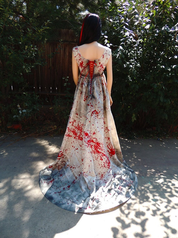 Blood Stained Amp Splattered Bride