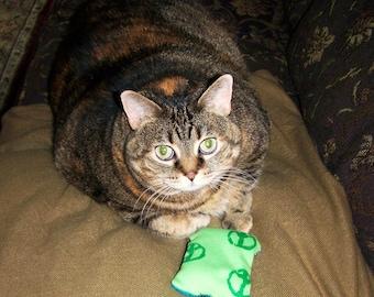 Set of 3 Organic Catnip Pillows for Cats & Kittens - New Item :)