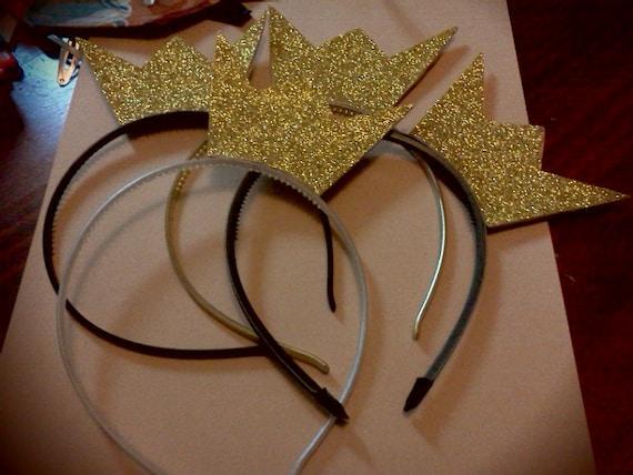 Big Bang VIP Glitter Crown Headband