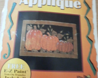 Fall holiday appliques