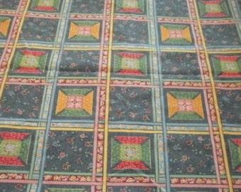Heavyweight quilt square design fabric