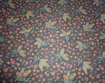 Fall Print Fabric - 1 Yard 19 Inches