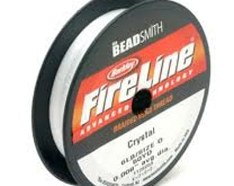 FireLine Braided Beading Thread - 0.008""