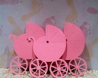 Reserved for Jessica - ordered 50 Baby Carriage Embellishments - originally sell in (Pack of 10)