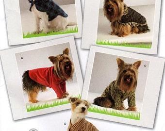 Simplicity 2695 Dog Jacket, Shirt, and Sweater Sewing Pattern Sizes XS,S,M