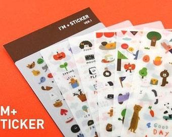 I'm Sticker - 6 sheets