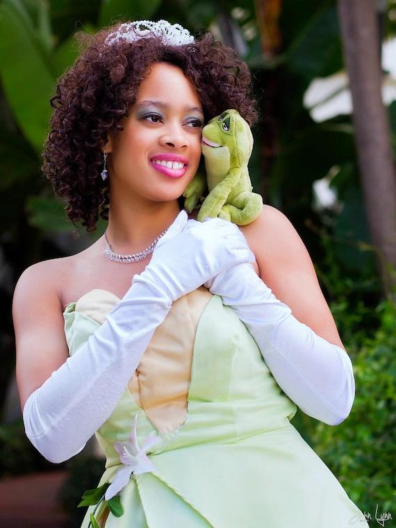 Items similar to Disfraz de princesa Tiana-Disney - la princesa y ...