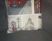 Pillowcasing with photoprint - London Theme