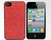 Glitter Case for iPhone 4/4S - Red