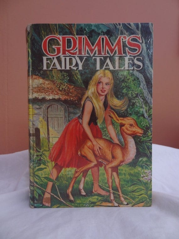 Vintage Children's Book - Grimm's Fairy Tales - Literature - Old Children's Book - Book from the 1960s